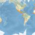 Distribuzione delle ze zone umide nel Mondo